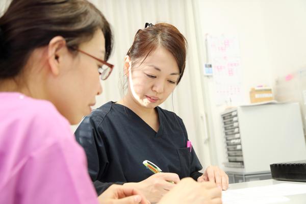 クリティカルパスを活用し、安心・安全のチーム医療を実現します。